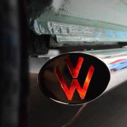 T4 Vee Dub Streamlines Mirror Polished Stainless Steel LED SWB 1