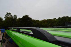 T6 Black Aluminium Roof Rails - LWB 1