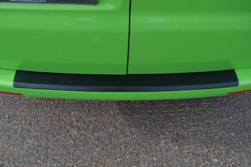 T6 Black ABS Rear Bumper Protector - Twin Door 1