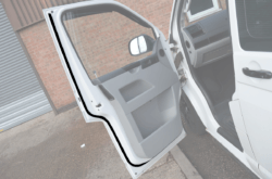 Cab Door Seal Overlay