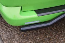 Clear bumper reflector LED2