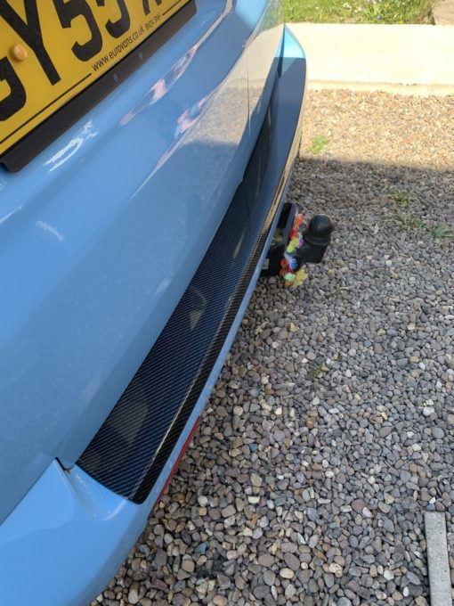Customer Carbon Bumper Protector