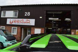 T5 Gloss Black 42mm Roof Bars & Sportline Sidebars SWB 4