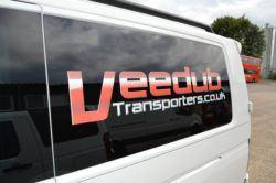 Vw transporter N/S Rear 1/4 Window In Privacy Tint