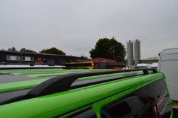 T6 Black Aluminium Roof Rails - LWB 2