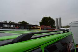 T6 Black Aluminium Roof Rails - SWB 2