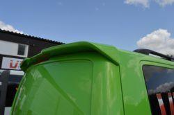 Vw Transporter T5 Sportline Style Rear Spoiler twin rear doors