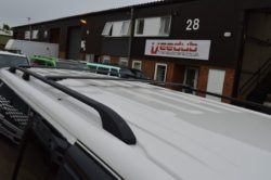Vw Transporter T5 Black Aluminium Roof And Wing Bar Package