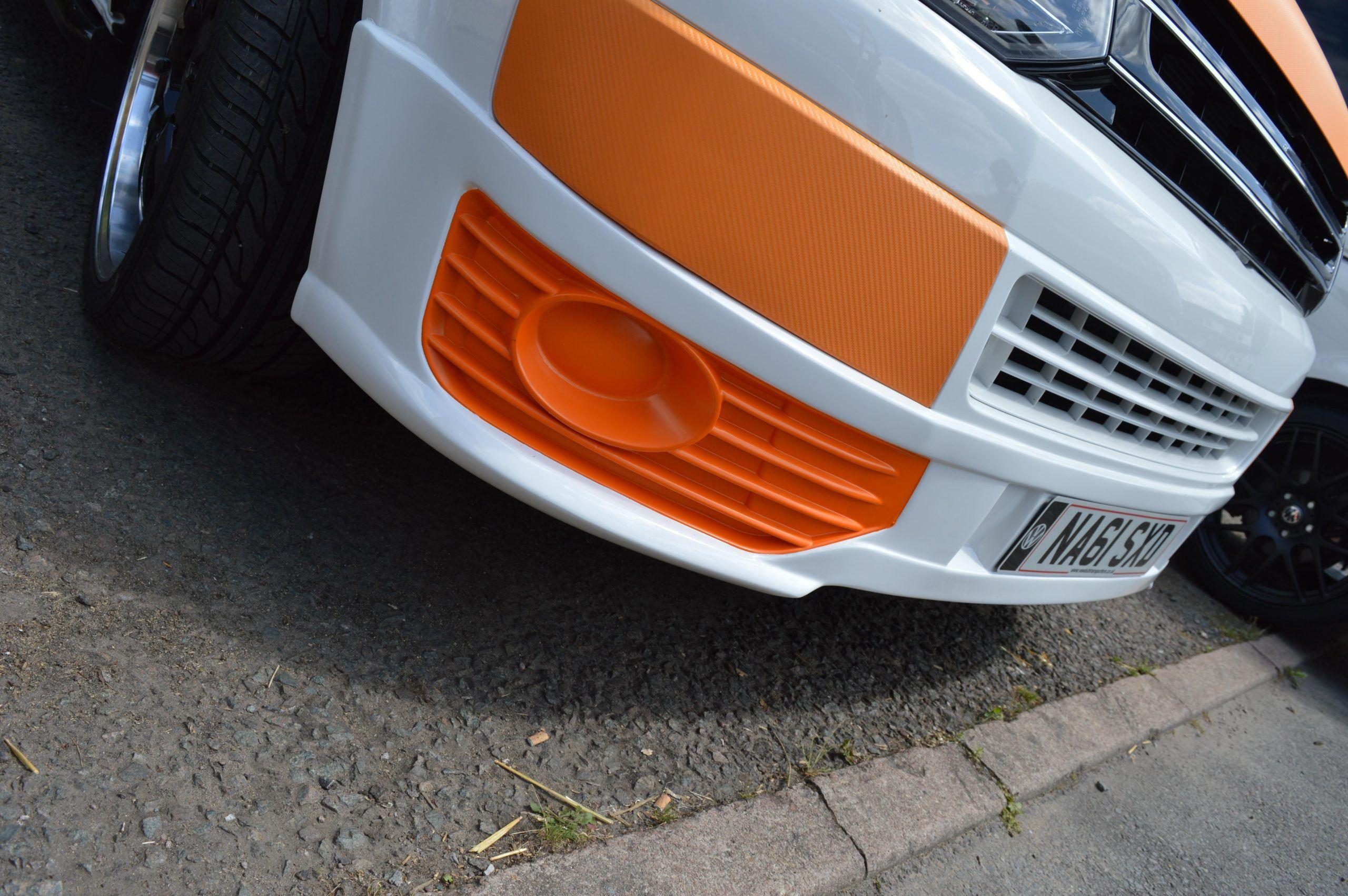 Vw Transporter T5.1 Gp Sportline Style Front Spoiler