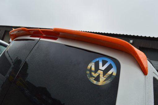 T6 Sportline Style Twin Door Rear Spoiler 6
