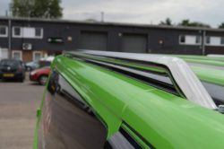 Vw Transporter T5 Mirror Polished Stainless Steel Roof Bars S.W.B