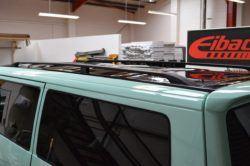 Vw T4 Black Aluminium Roof Rails
