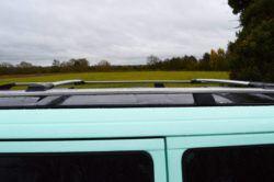 T4 Shiny Aluminium Roof Rails & Wing Bar Package - LWB 2
