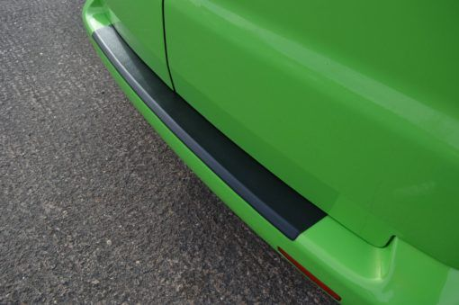 T6 Black ABS Rear Bumper Protector - Twin Door 2