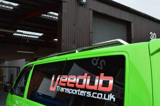 Vw Transporter T5 Mirror Polished Stainless Steel Roof Rails