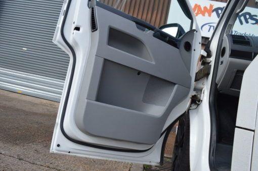 Front door seal fitted3