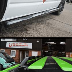 Gloss Vulcan & Roof bar package
