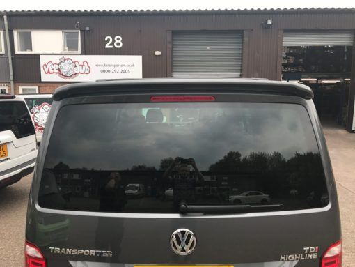 T6 Tailgate Rear Door Window Glass In Privacy Tint 1