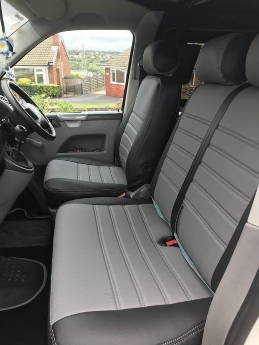 T5 Grey ribbed seat covers