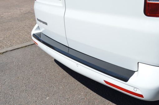 T6 Carbon Fibre Rear Bumper Protector – Tailgate 3