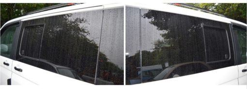 T6 Facelift N/S & O/S Front Privacy Tint Sliding Window Package 1