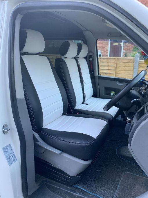 VW T5 2+1 front white2
