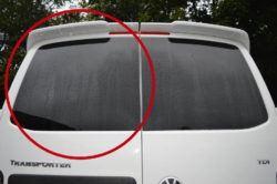 T6 Twin Rear Door Window Glass Nearside In Privacy Tint 1