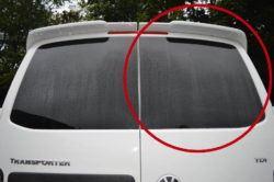 T6 Twin Rear Door Window Glass Offside In Privacy Tint 1