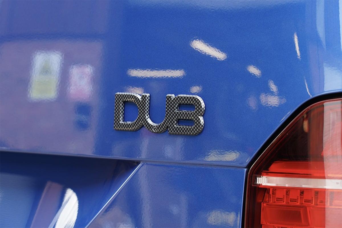 DUB Badge Carbon Fibre