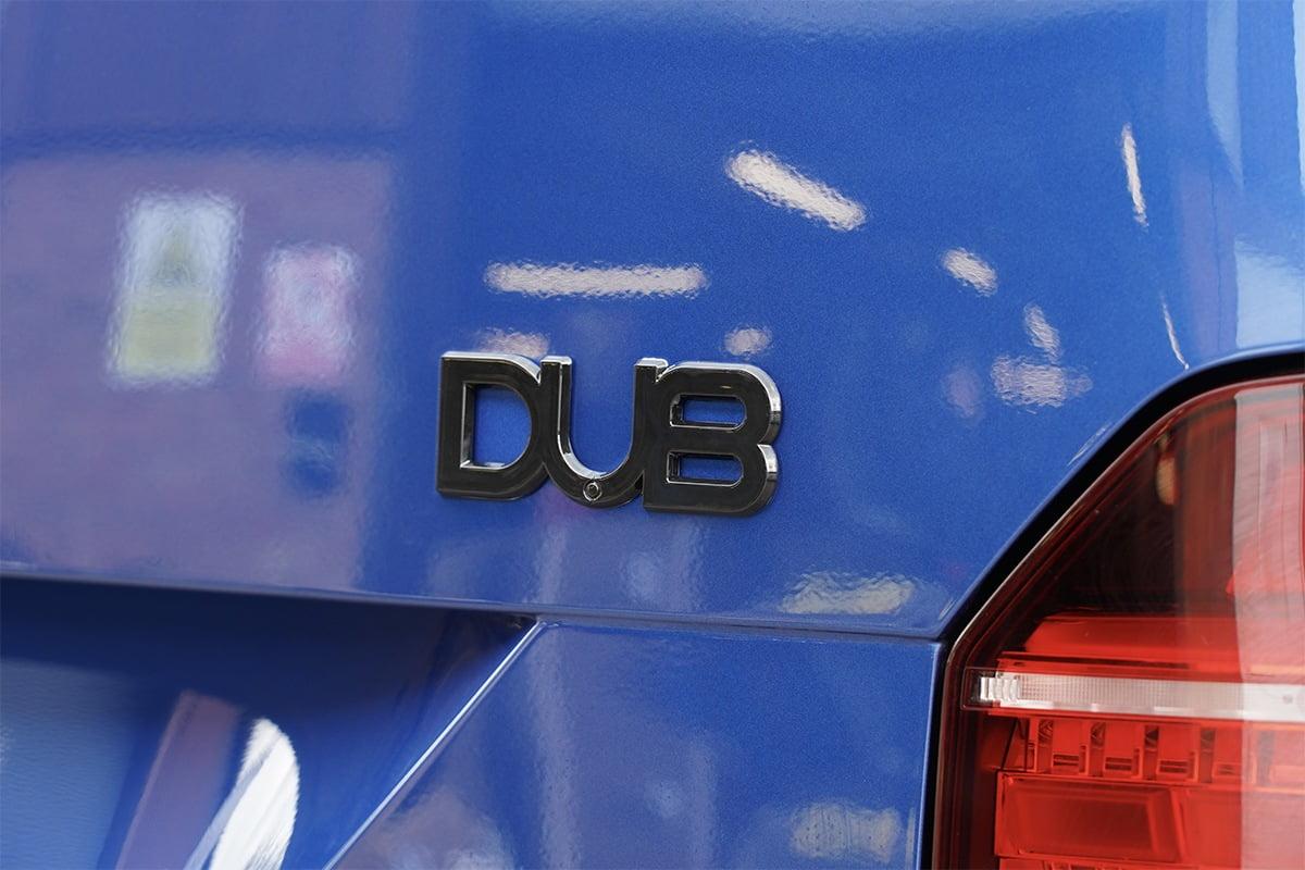 DUB Badge Gloss Black copy