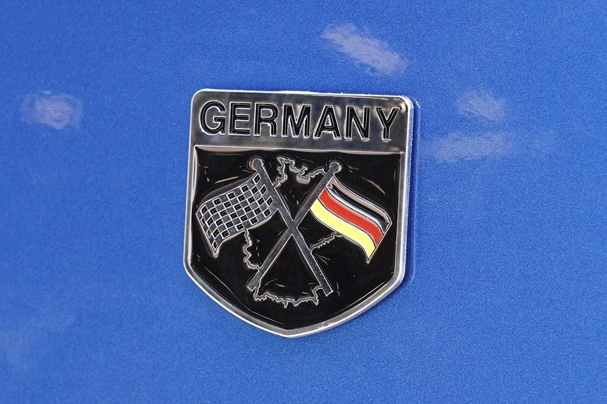 Germany Racing Badge