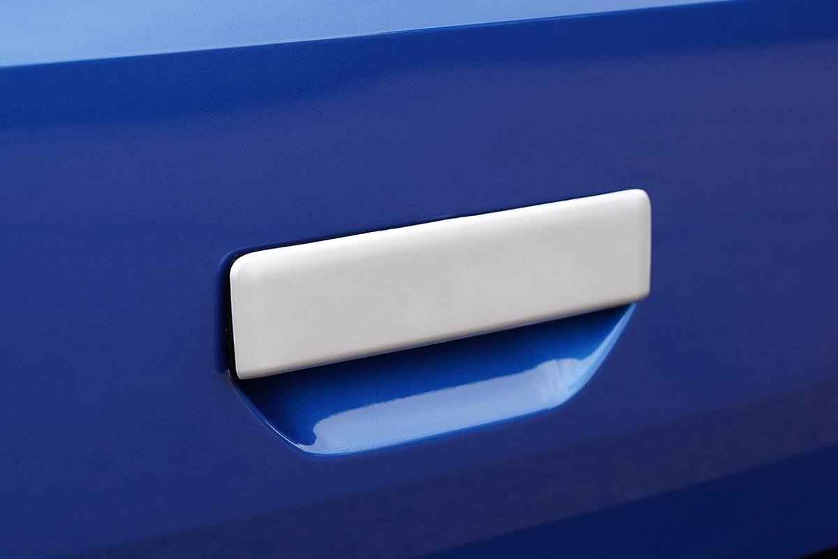 T6.1 Rear Grab Handle Cover SILVER