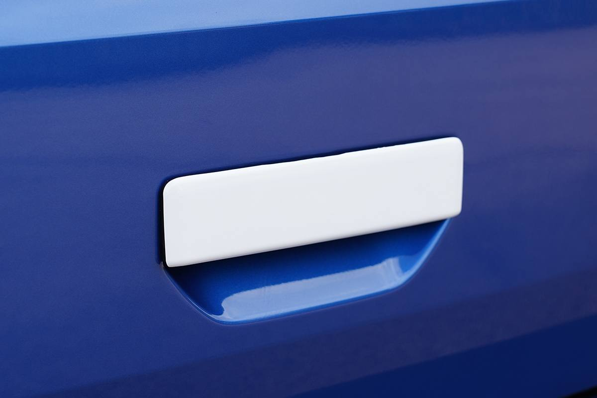 T6.1 Rear Grab Handle Cover WHITE