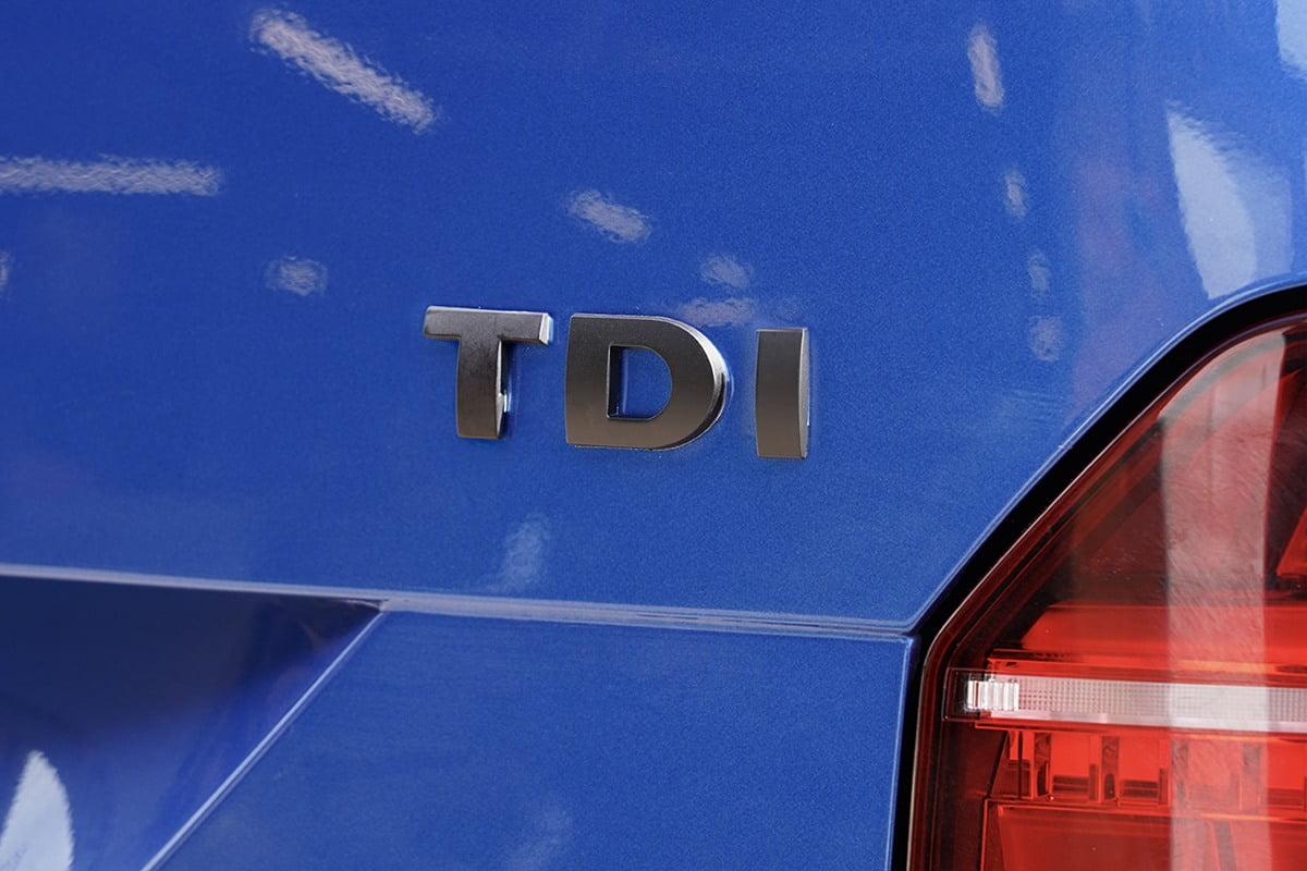 TDI Badge Matt Black