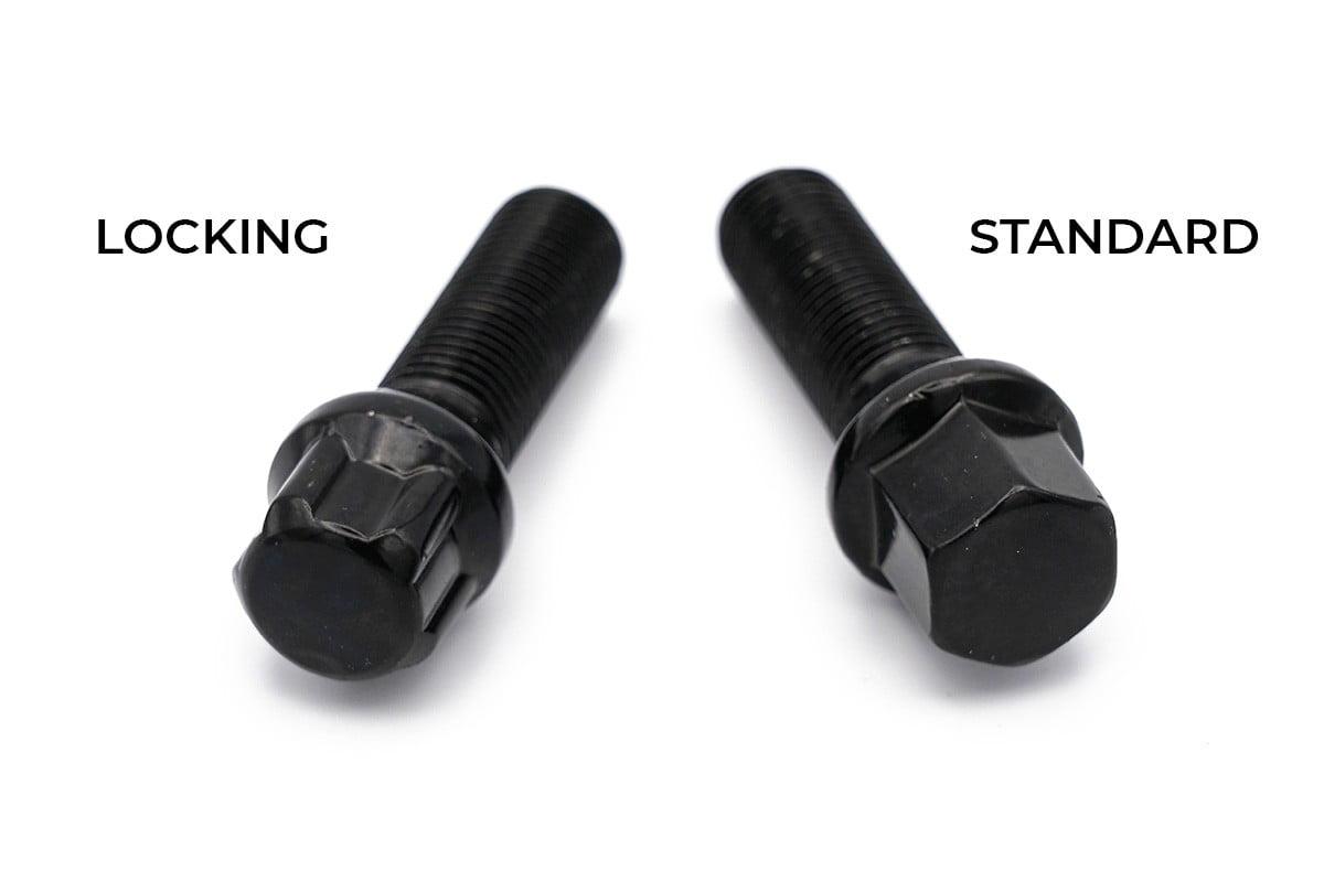 Wheel Nuts Black Comparison
